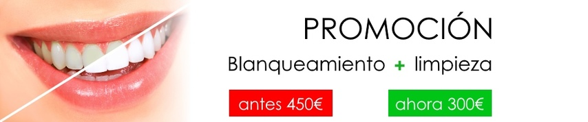 promo blanqueamiento